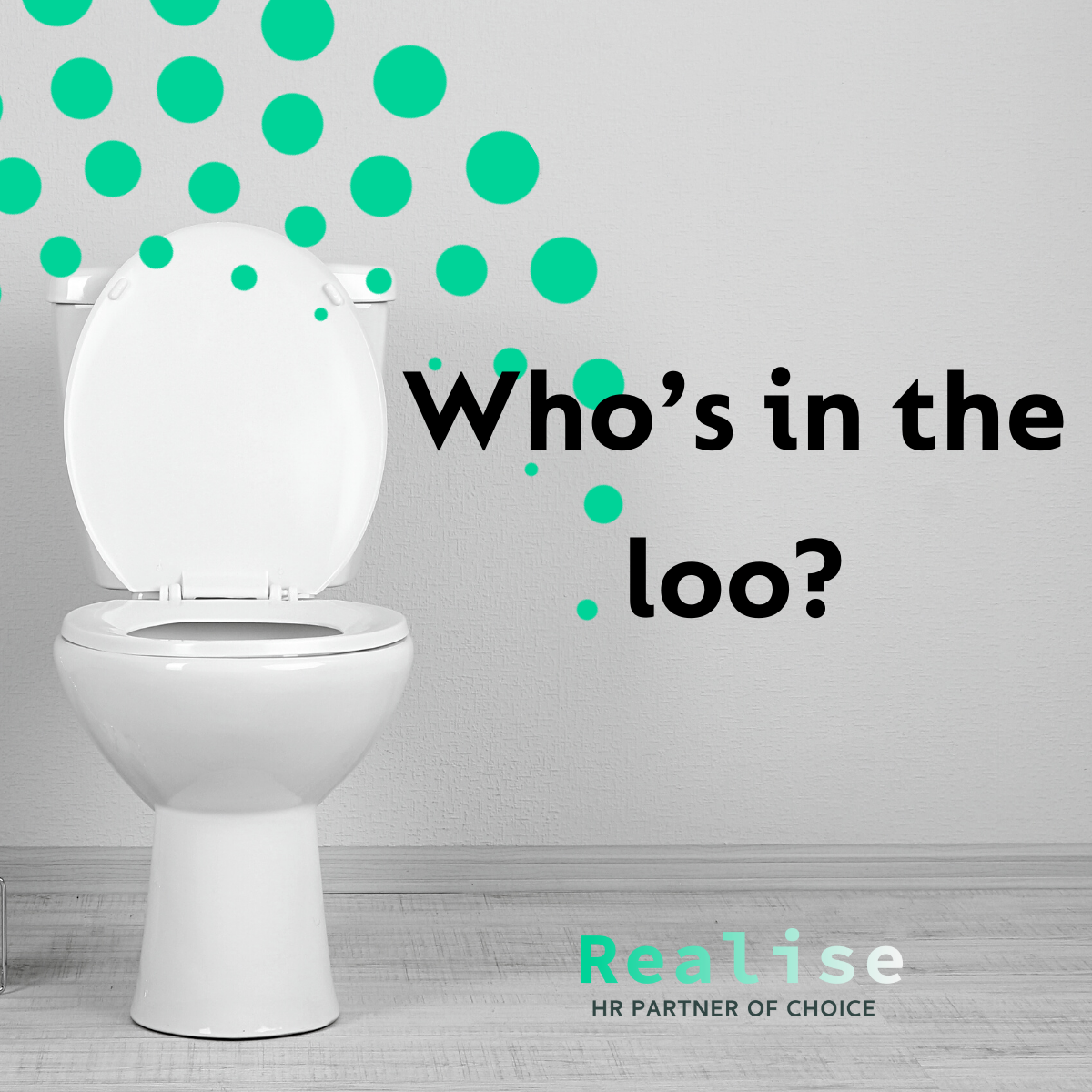 Thumbnail image or logo for the Who's in the loo? event